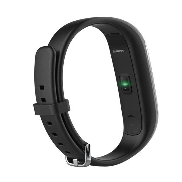 Фитнес браслет Lenovo HW01 Bluetooth 4.2 (Black)