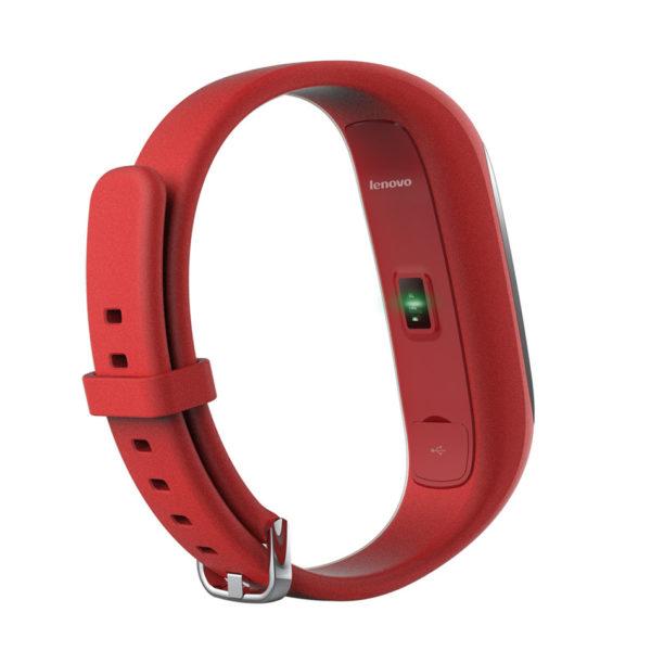 Фитнес браслет Lenovo HW01 Bluetooth 4.2 (Red)