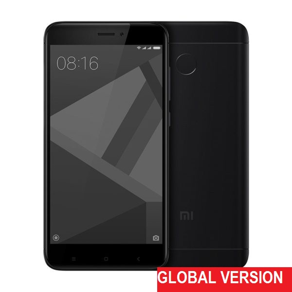 Xiaomi Redmi 4X 3GB+32GB (Black) Международная версия