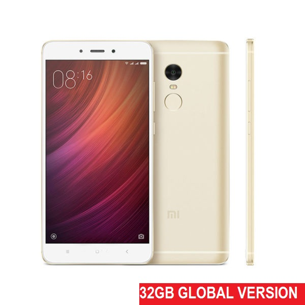 Xiaomi Redmi Note 4 32Gb+3Gb Gold (Международная версия Snapdragon 625)