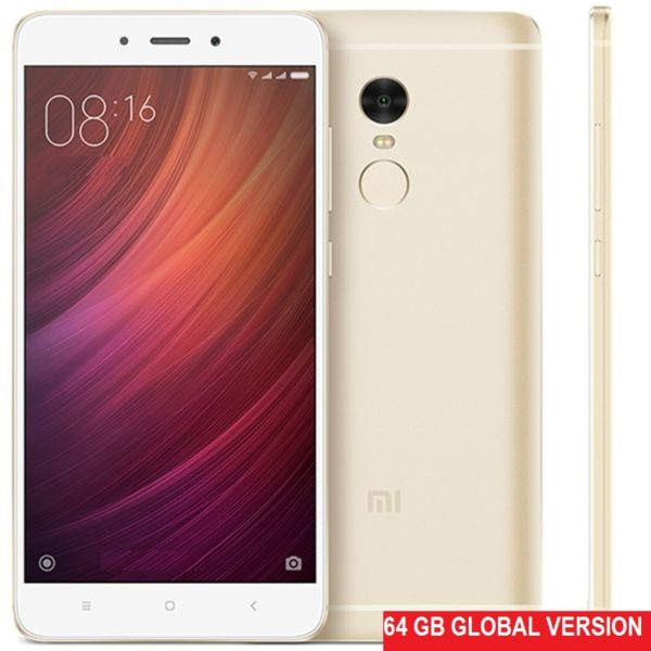 Xiaomi Redmi Note 4 64Gb+4Gb Gold (Global Version Snapdragon 625)