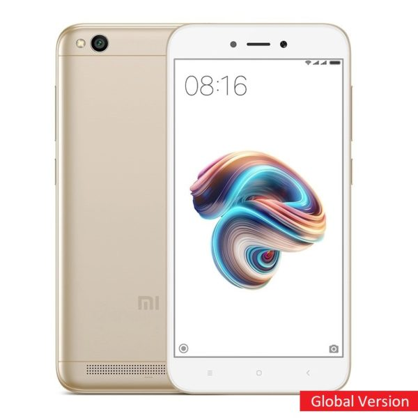 Смартфон Xiaomi Redmi 5A 2/16GB Global Version (Золотой)