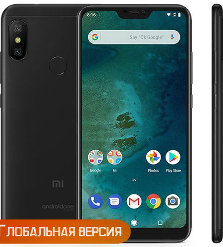Xiaomi Mi A2 Lite 4/64GB Black (Global Version)
