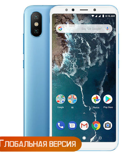 Xiaomi Mi A2 4/64GB Blue (Global Version)